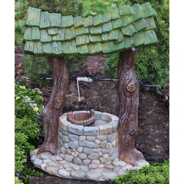 fairy garden wishing well