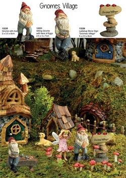 Fairy Garden Gnome Villages