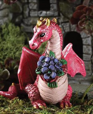 flowers dragon