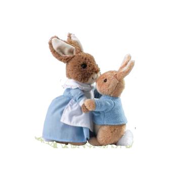 mrs rabbit peter Beatrix Potter Collectibles