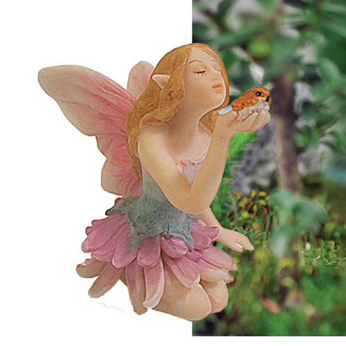 pixie fairy with bird