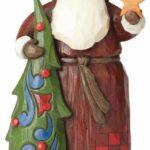 Jim Shore Folklore Santa Figurine