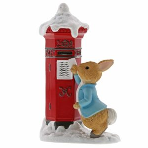 Peter Rabbit Sending a letter to Santa