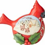 Enesco Jim Shore Heartwood Creek Pint Cardinal Figurine
